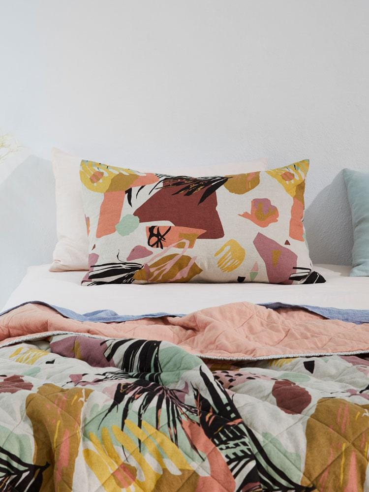 Kinda California Art Pillowcase Set by Greenhouse | Shop Bedding | Greenhouse Interiors