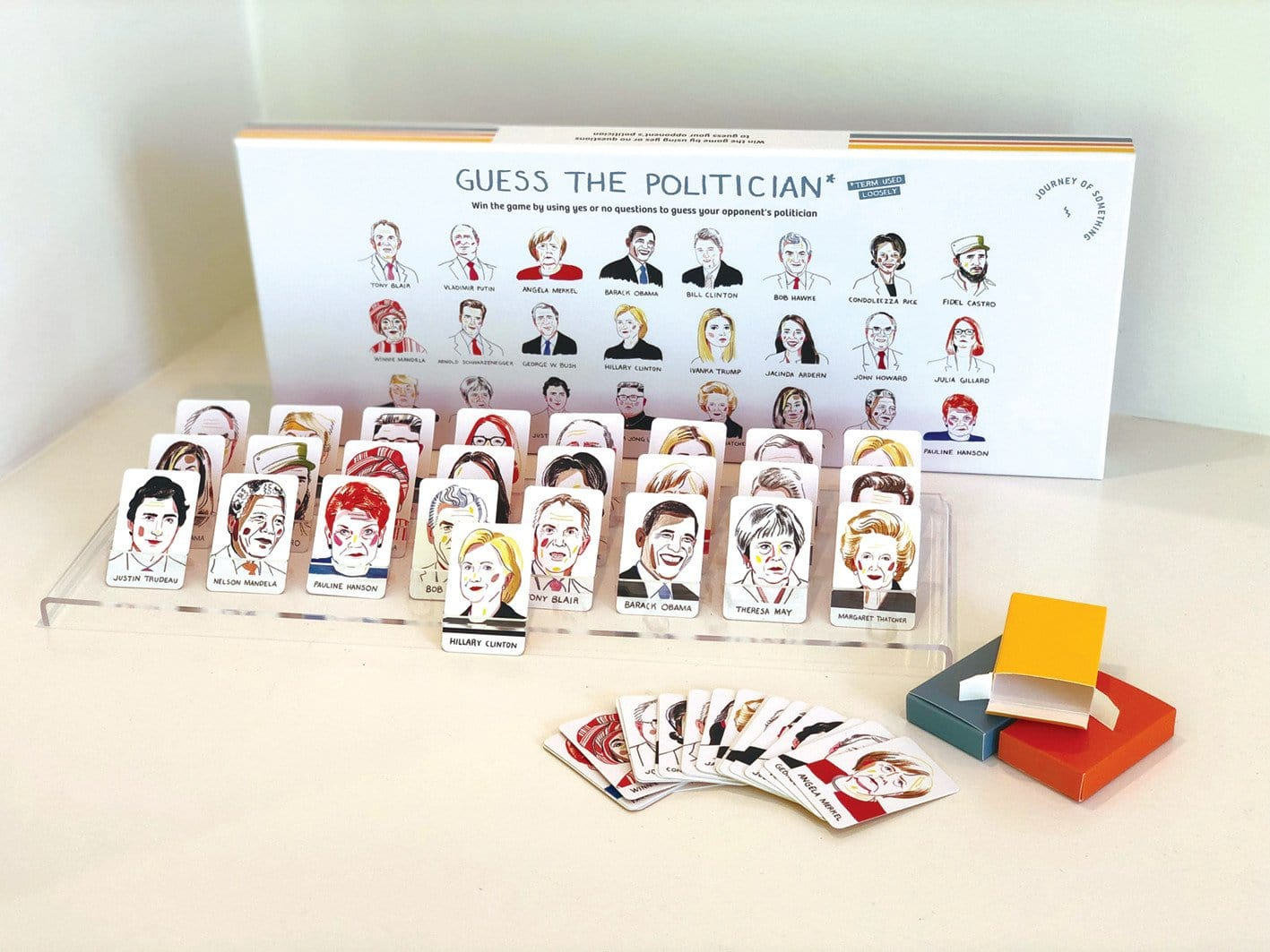 Guess The Politician - Board Game by Journey of Something | Shop Games | Greenhouse Interiors