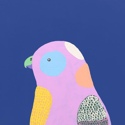 Sweet Face I (Lilac Parrot) - Art Print