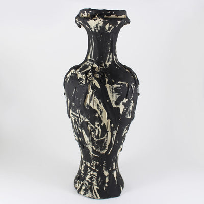 Driptopia Black Ink Classic Vase
