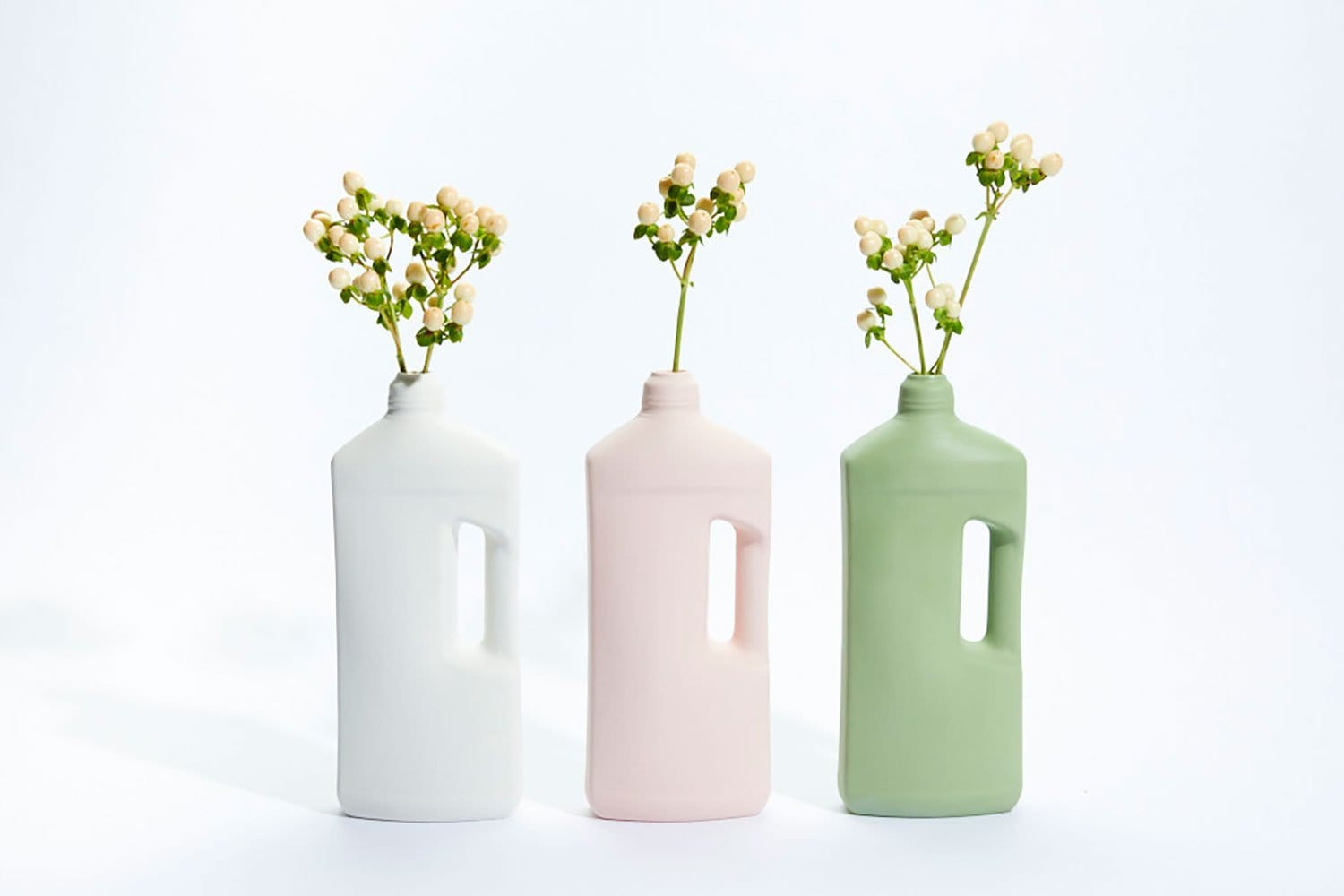 Motor Oil Bottle Vase by Journey of Something | Shop Ceramics | Greenhouse Interiors