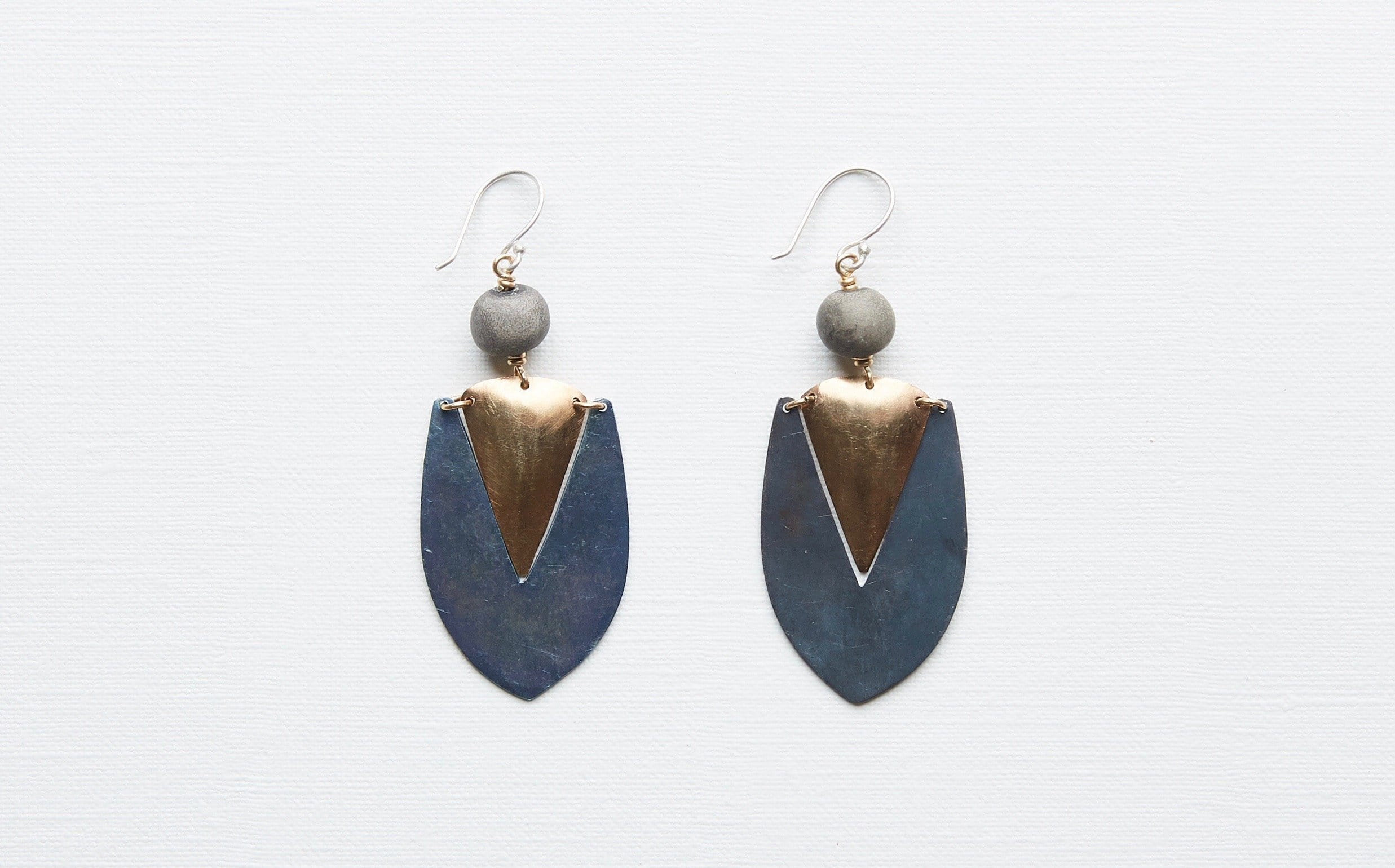 Clay Bead Earrings - Nandi