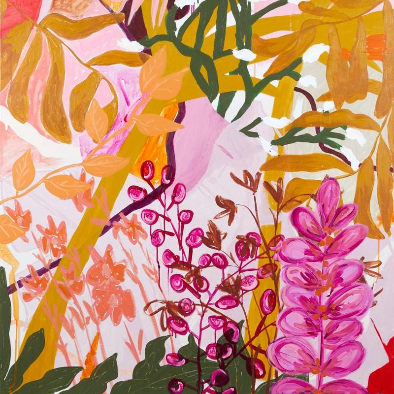 Wild Floss - Print-Prints-Kate Mayes-Greenhouse Interiors