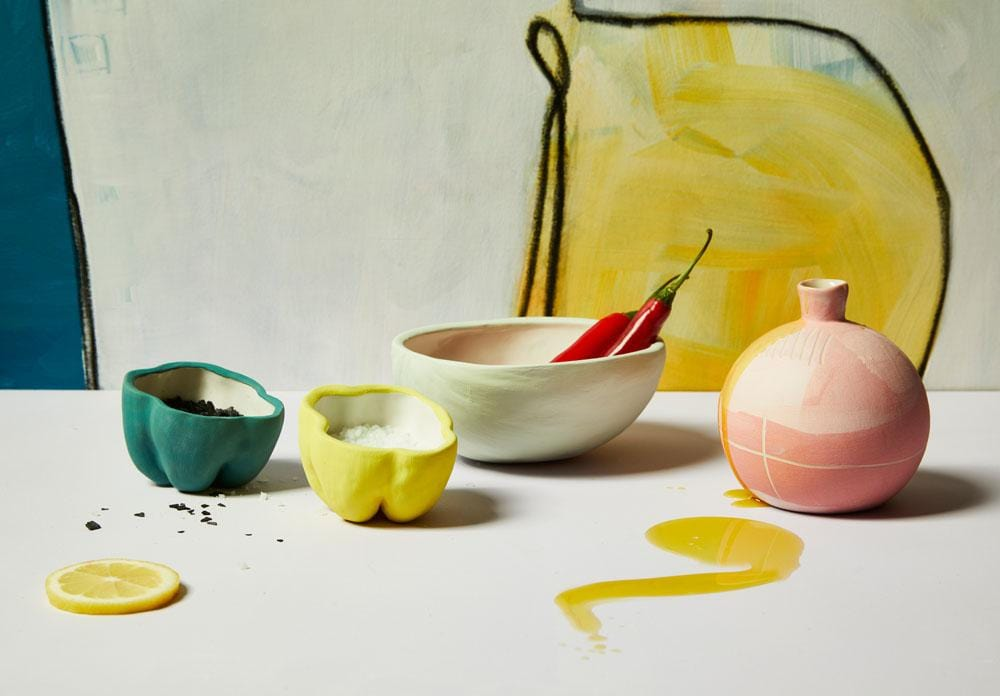 Yellow Pepper Bowl by Kaz Ceramics | Shop Ceramics | Greenhouse Interiors
