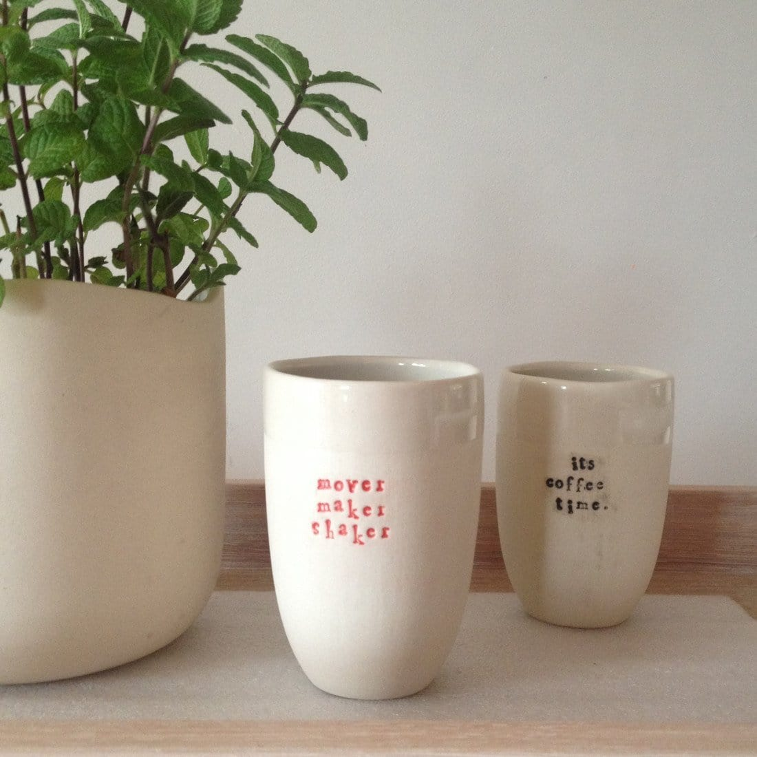 Karen Morton Kaz Customised Cup Ceramics