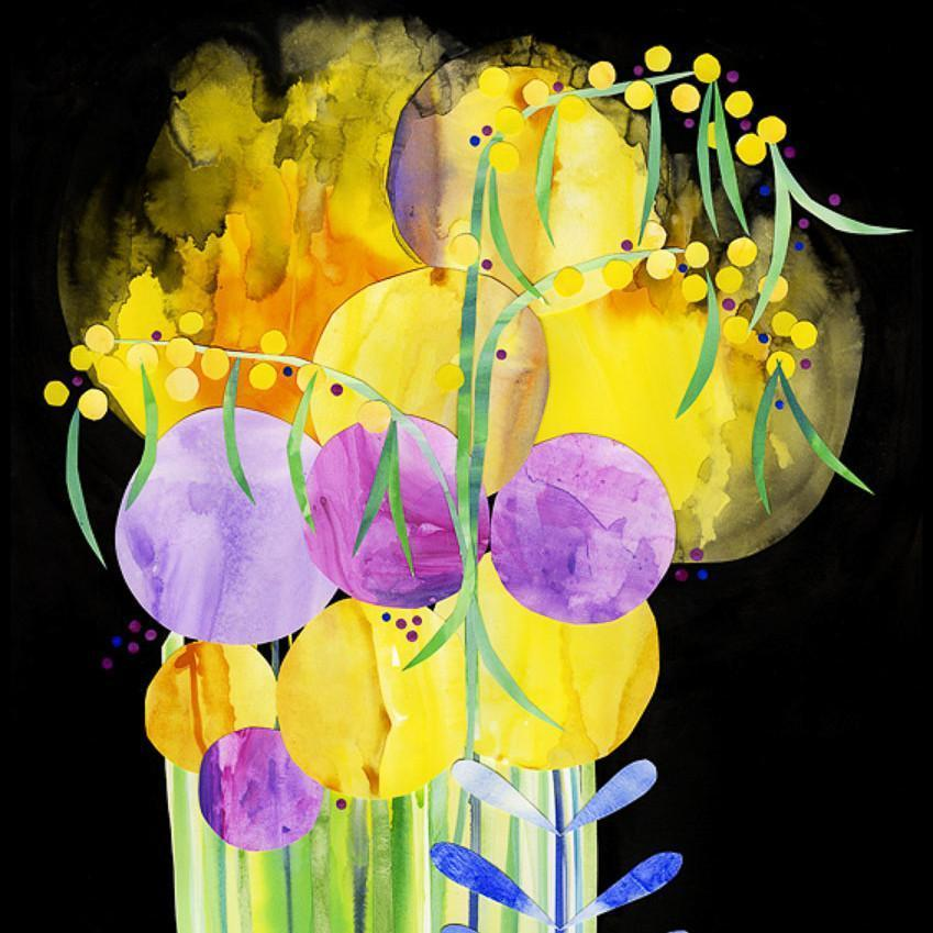 Yellow Cosmos - Print by Madeleine Stamer | Shop Prints | Greenhouse Interiors