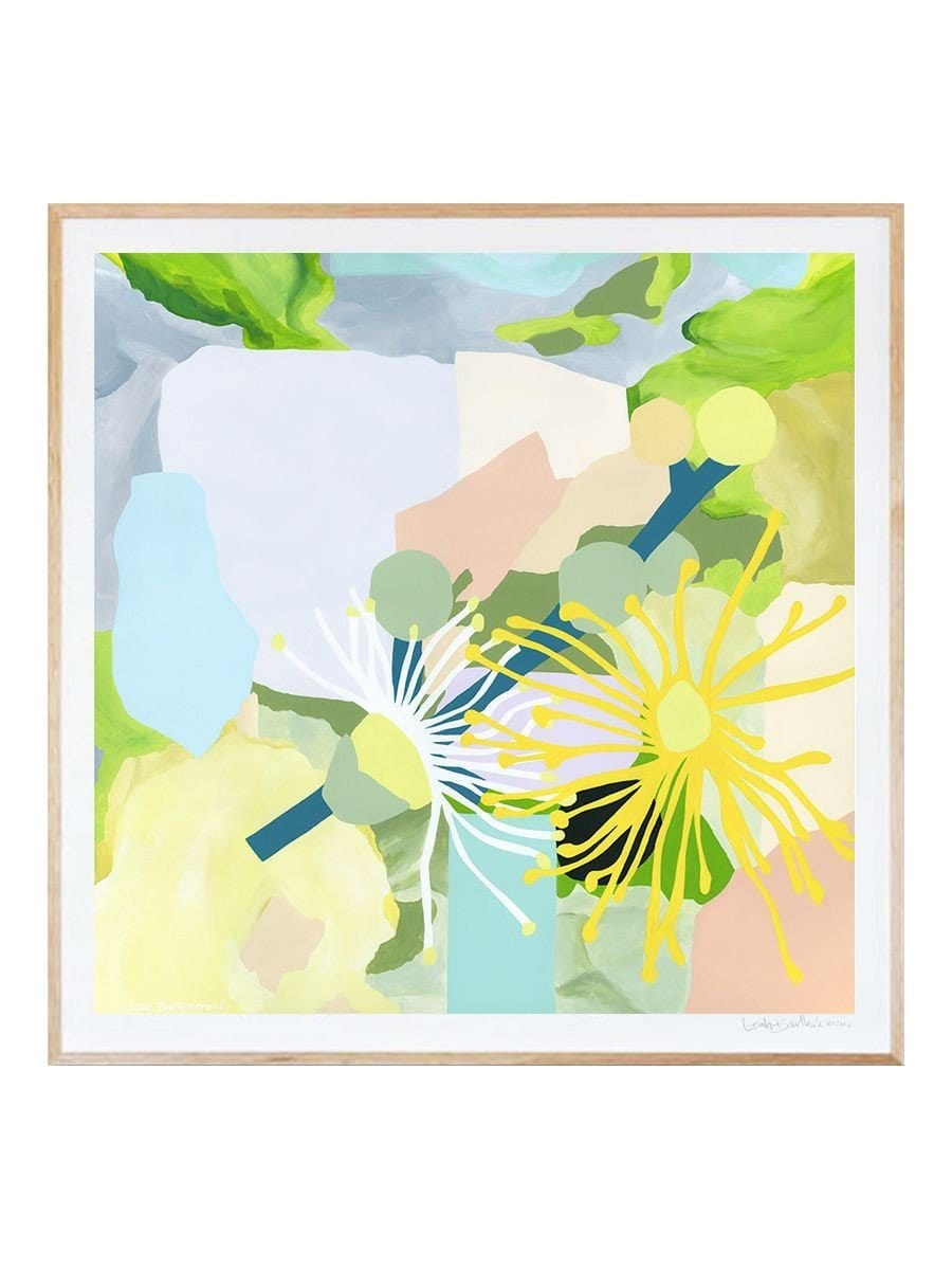 Grey Carrol Myrtle - Print by Leah Bartholomew | Shop Prints | Greenhouse Interiors