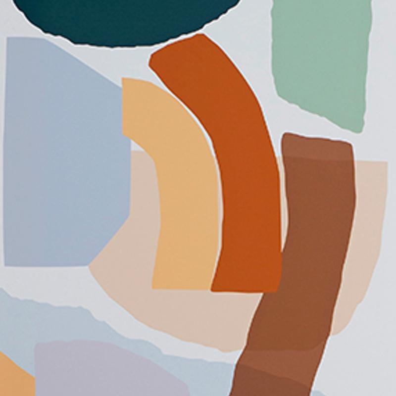 Shape Play - Print by leah bartholomew | Shop Prints | Greenhouse Interiors