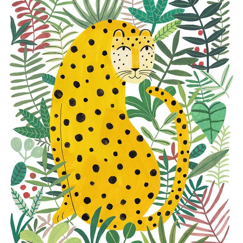 Leopard Jungle - Print by Miranda Sofroniou | Shop Prints | Greenhouse Interiors