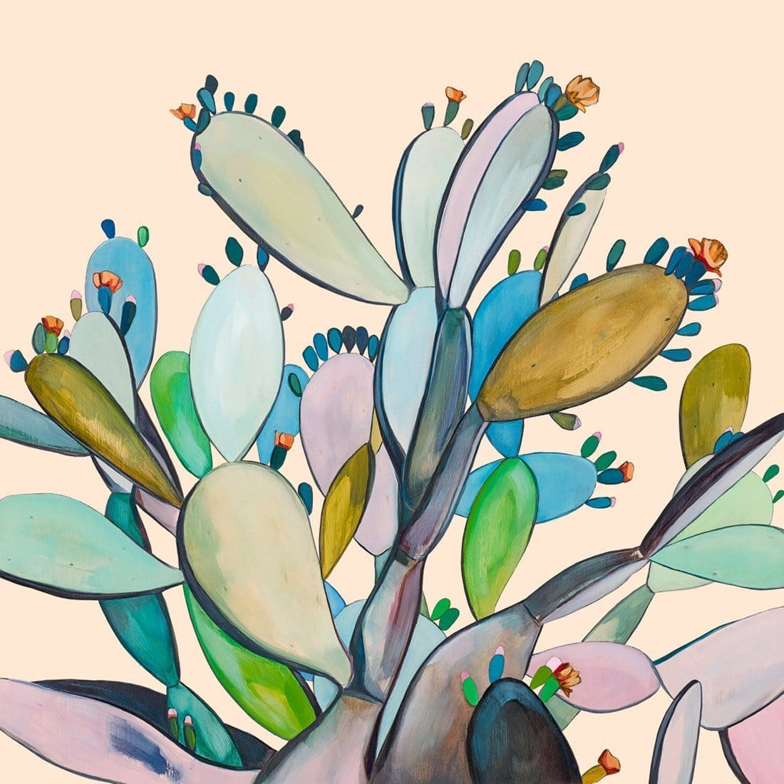 Maras Cactus - Print by Kate Jarman | Shop Prints | Greenhouse Interiors