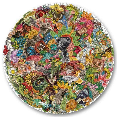 1000 Piece Puzzle - (Round) - All Around OZ