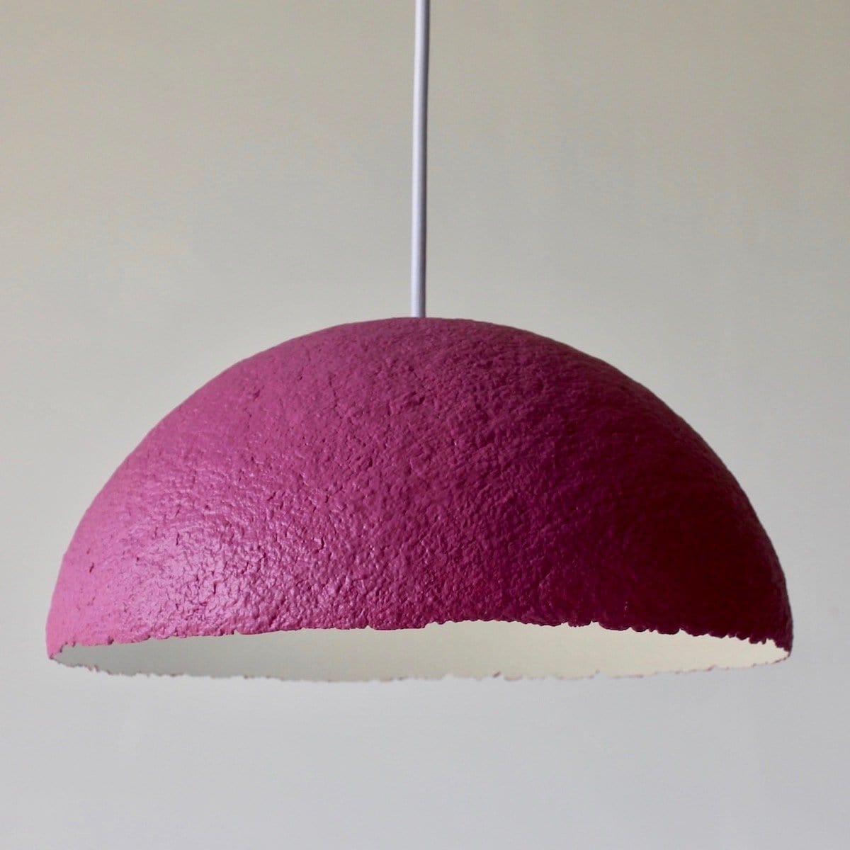 Lunula Pendant - Hibiscus by Ode to Elma | Shop Lighting | Greenhouse Interiors