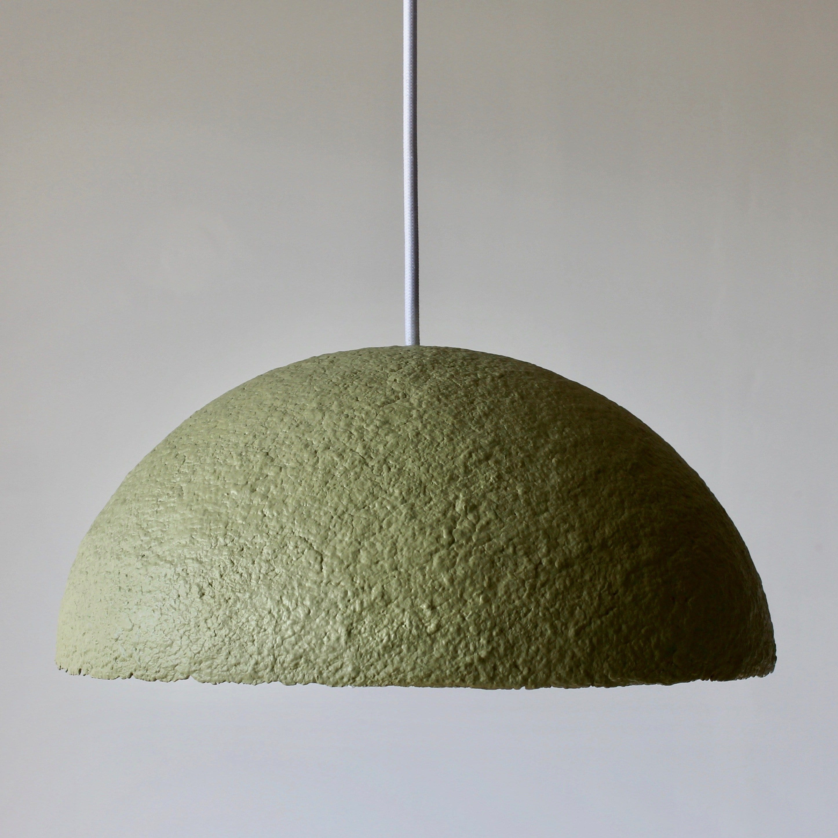 Lunula Pendant - Olive by Ode to Elma | Shop Lighting | Greenhouse Interiors