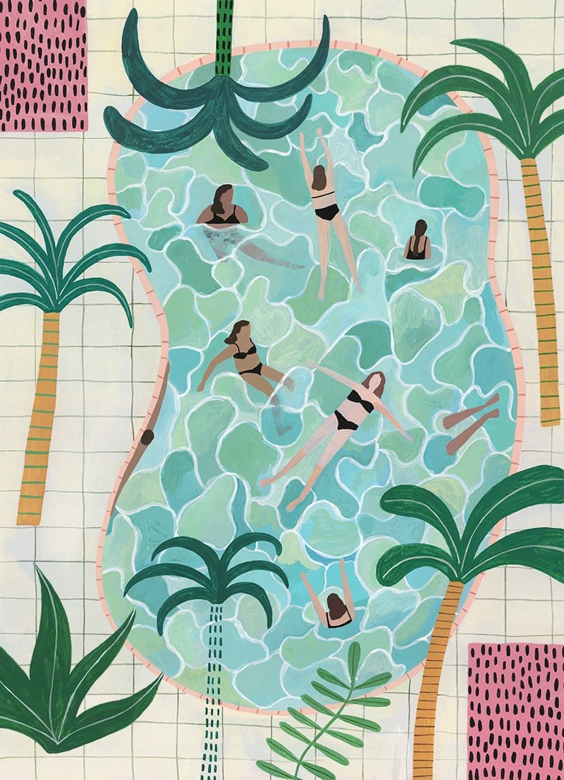 Pool Party - Print