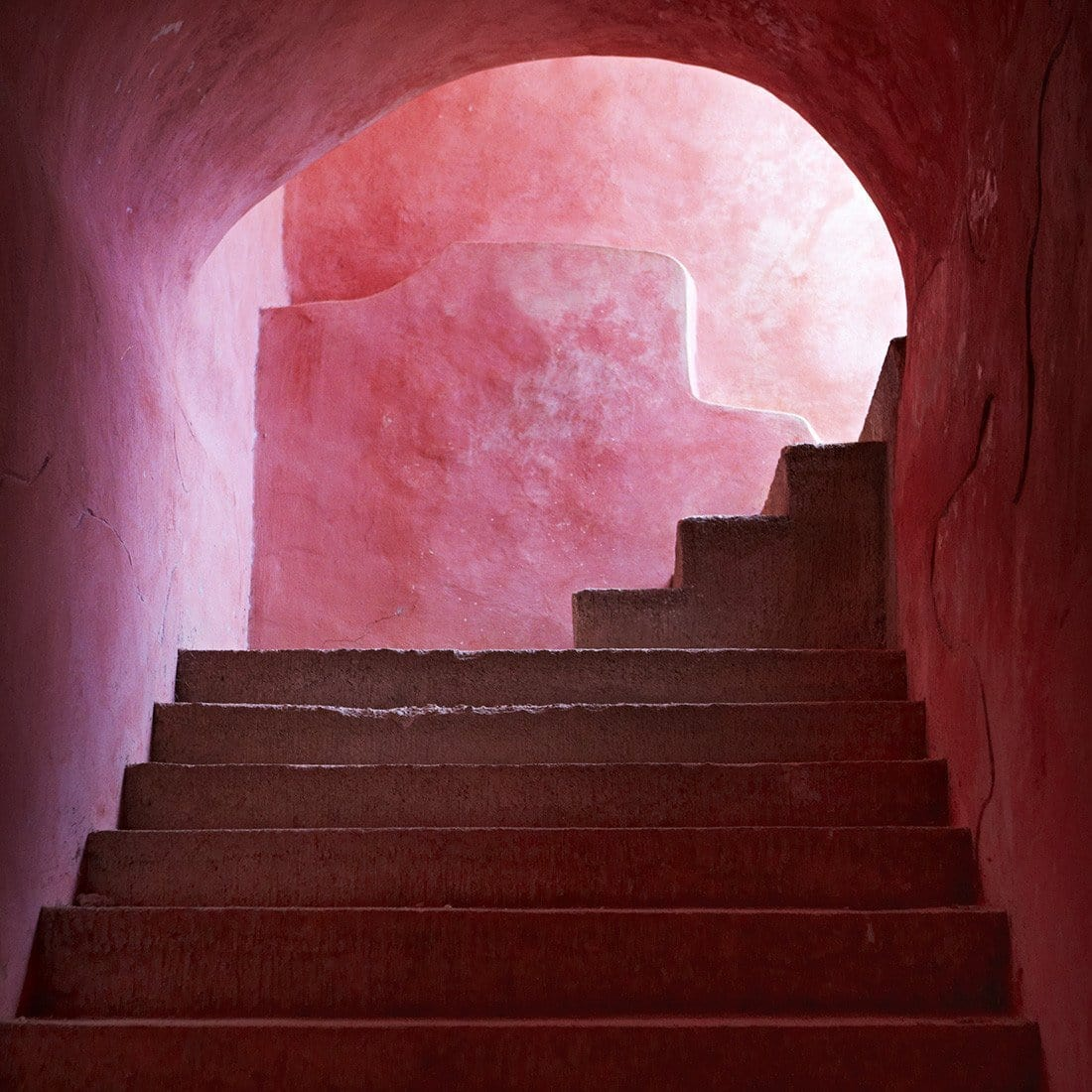 Armelle Habib Pink Stairs Limited Edition Prints, Photographic prints