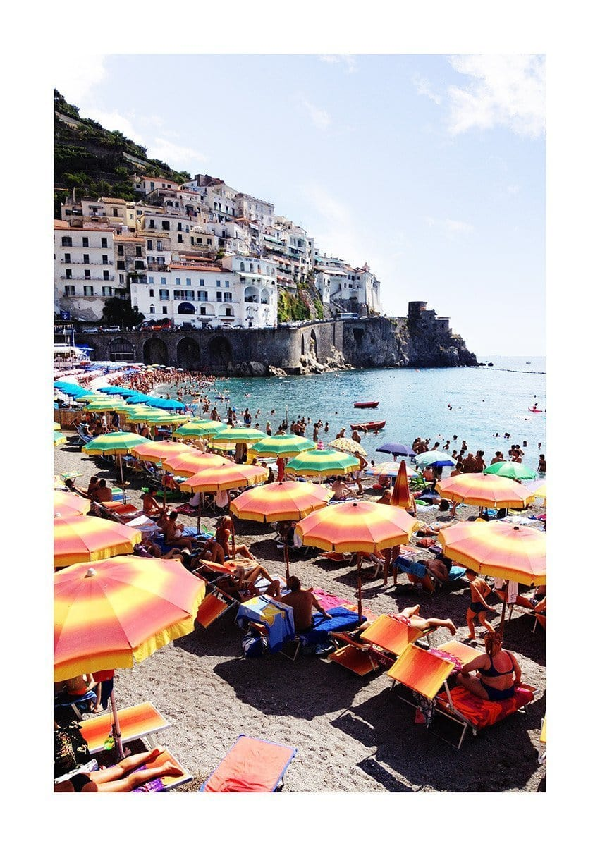 Amalfi Neapolitan by Armelle Habib | Shop Prints | Greenhouse Interiors