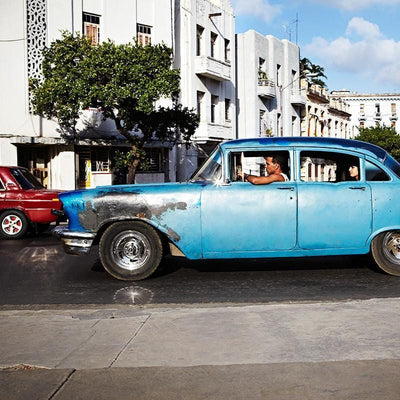 Armelle Habib Cuban Blue Limited Edition Prints, Photographic prints