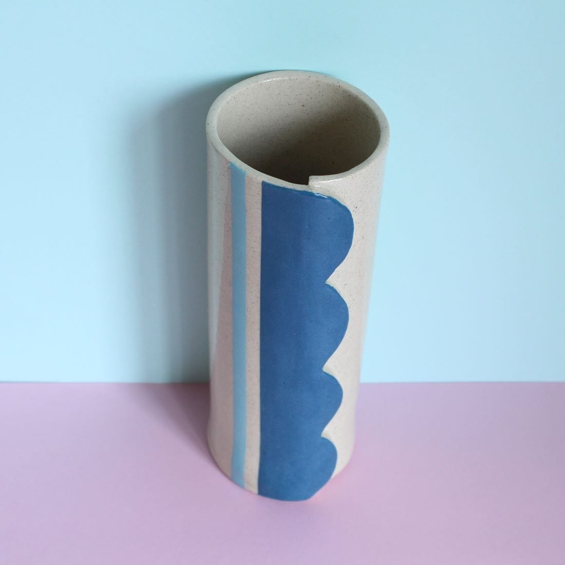 Scalloped Vessel - Ceramics