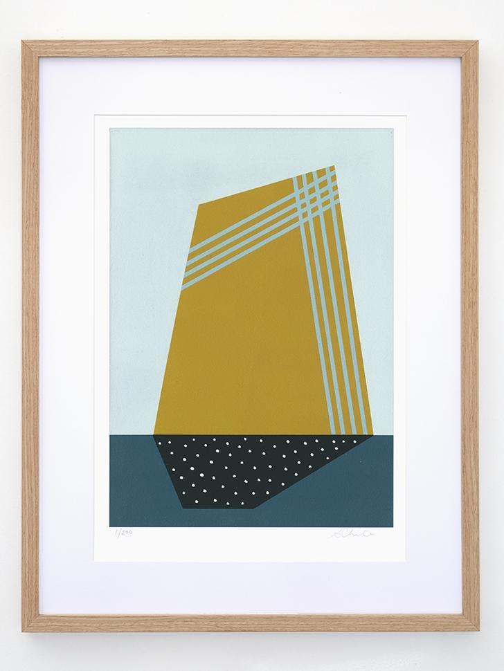 Spicy Mustard by Formantics | Shop Prints | Greenhouse Interiors