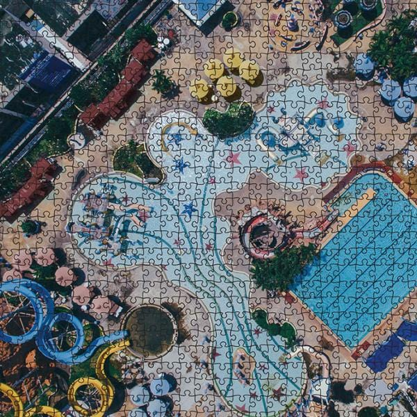 1000 Piece Puzzle - Waterpark Edition by Journey of Something | Shop Puzzles | Greenhouse Interiors