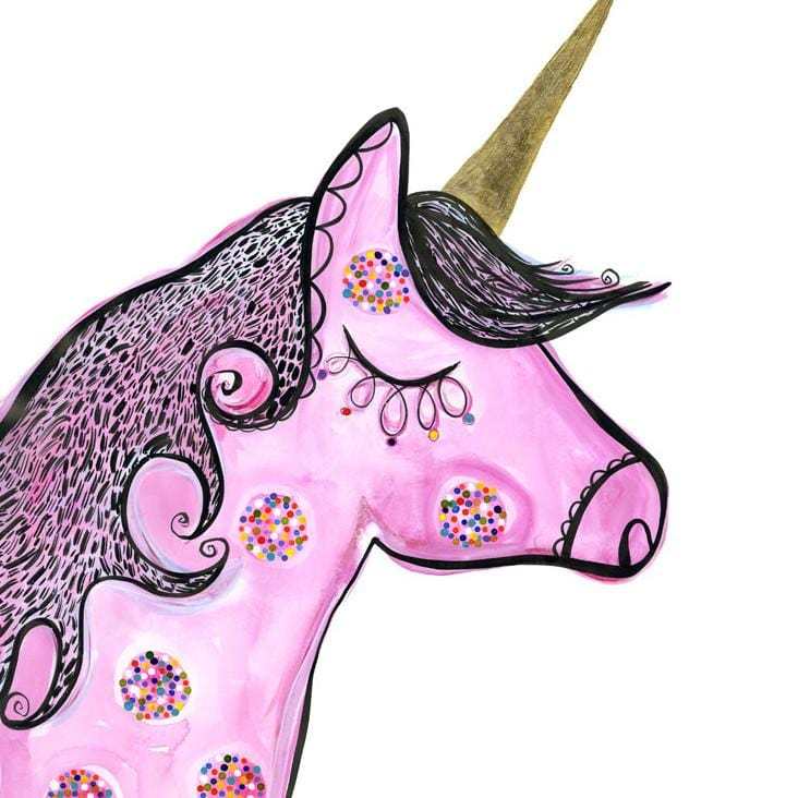 Wilhelmina Unicorn by Madeleine Stamer | Shop Prints | Greenhouse Interiors