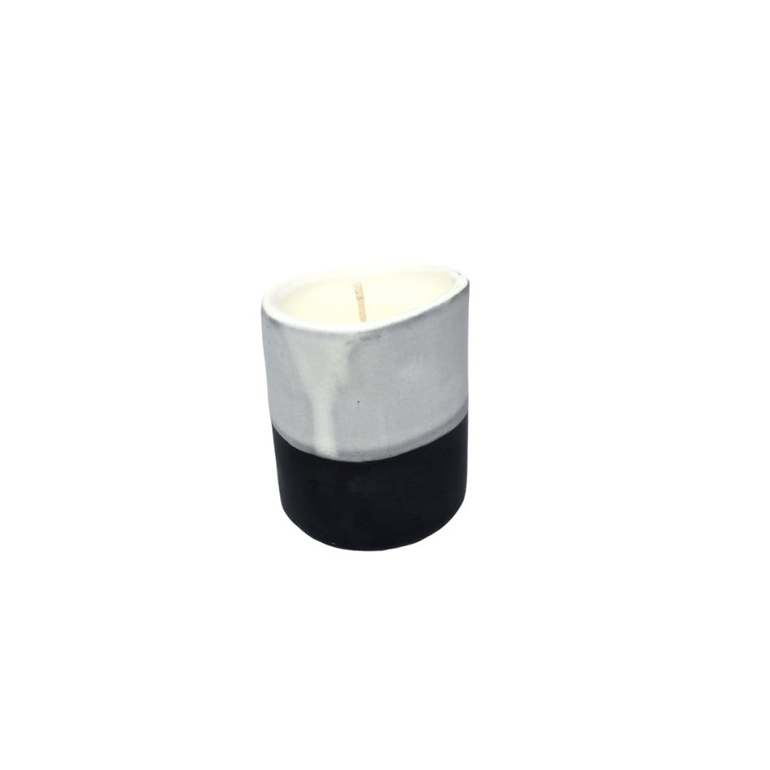 Black Ceramic Candle by Kaz Ceramics | Shop Candles | Greenhouse Interiors