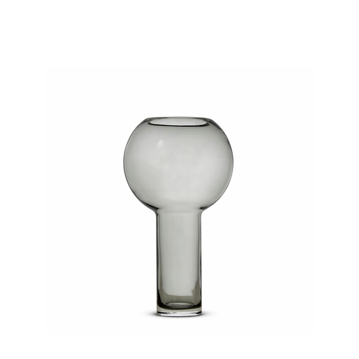 Balloon Vase Storm Grey (S) by Marmoset Found | Shop Glass | Greenhouse Interiors