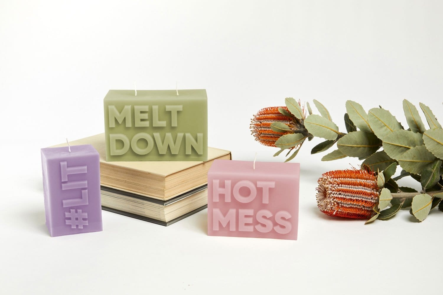 Melt Down Candle-Candles-Journey of Something-Greenhouse Interiors