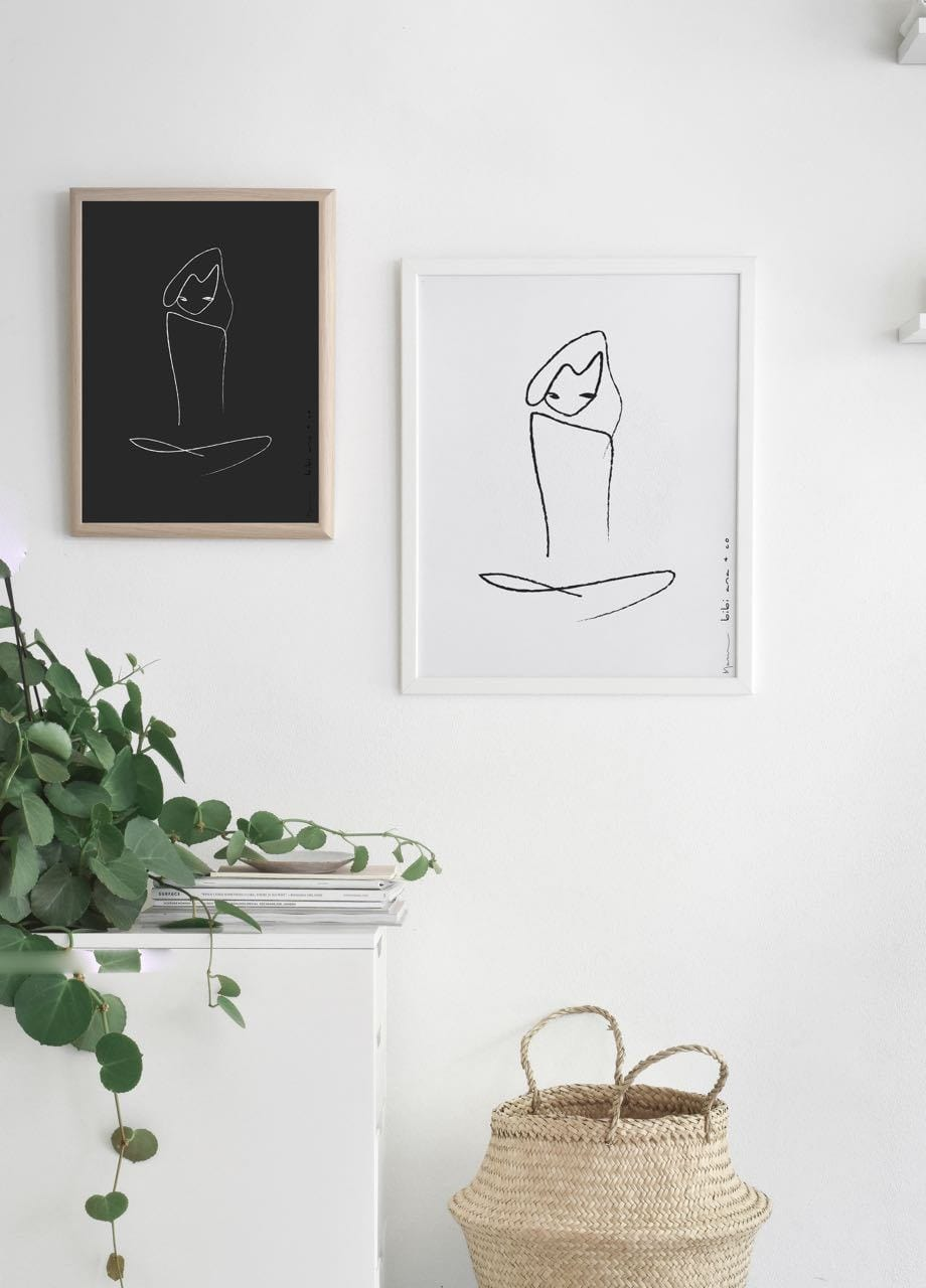 Dhyana - Limited Edition Print by Bibi Ana + Co | Shop Prints | Greenhouse Interiors