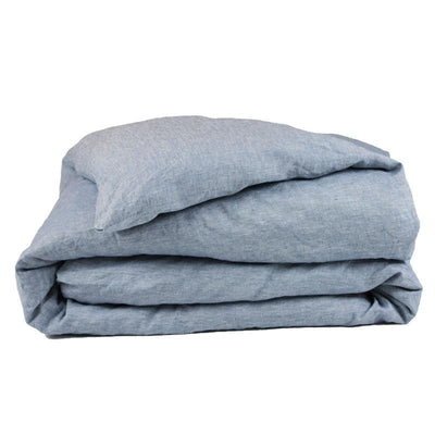 Linen Duvet Cover - Chambray
