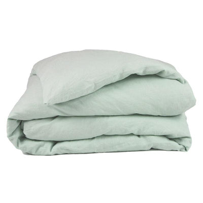 Linen Duvet Cover - Sea Mist