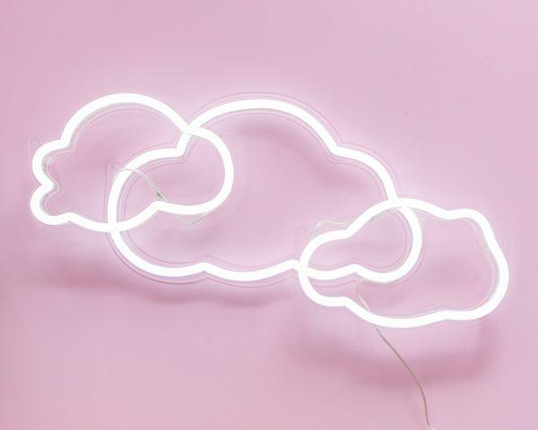 Cloud by three - Neon Lighting by Electric Confetti | Shop Lighting | Greenhouse Interiors