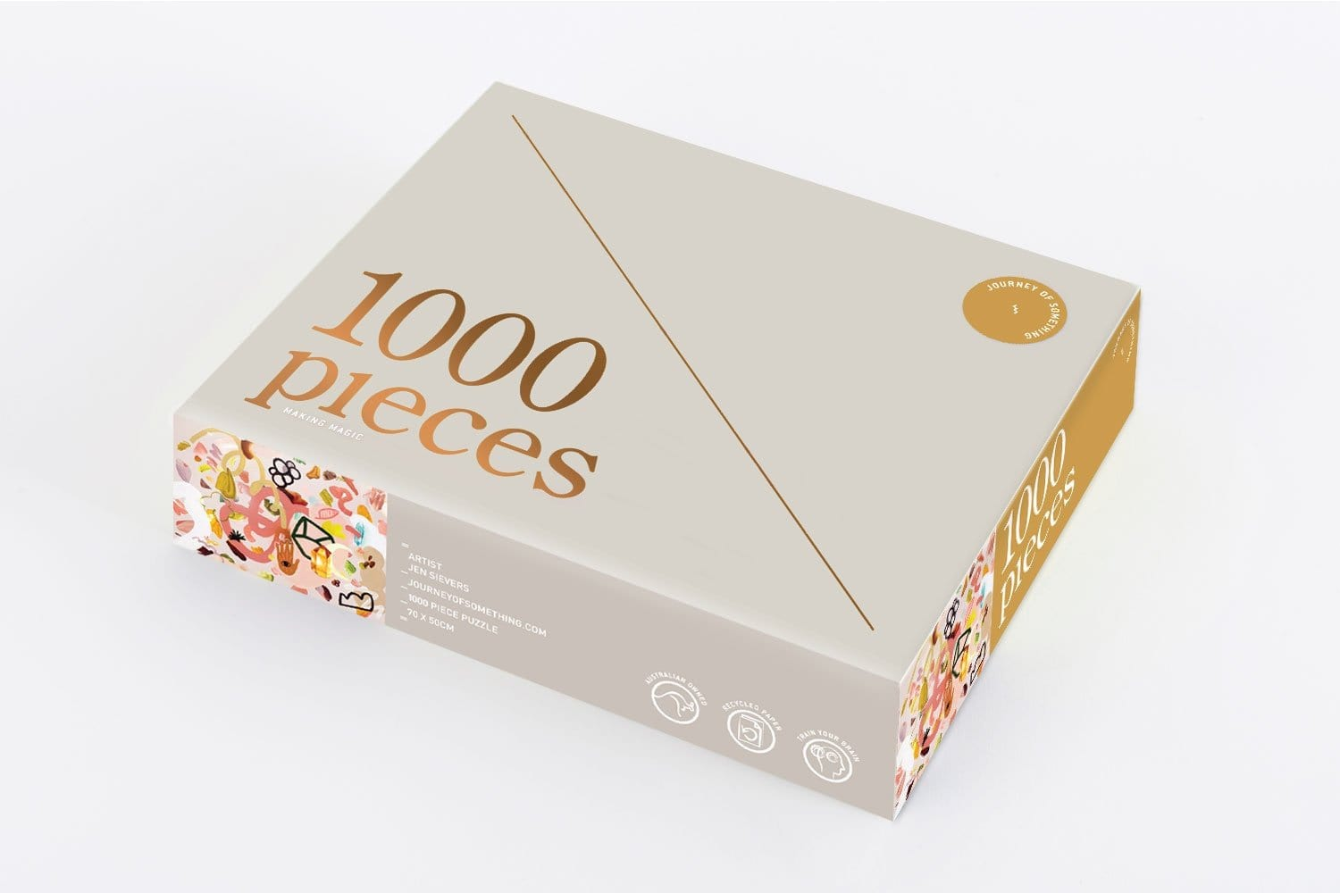 1000 Piece Puzzle - Making Magic by Journey of Something | Shop Puzzles & Games | Greenhouse Interiors