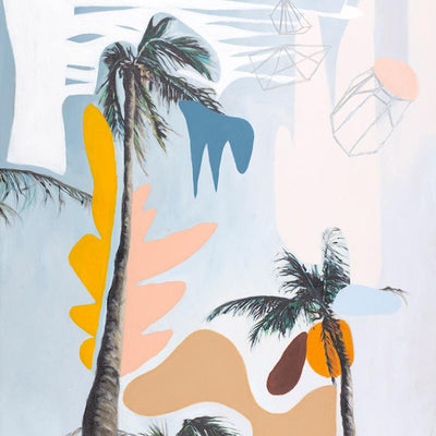 Jewel Sky Palms - Limited Edition Print