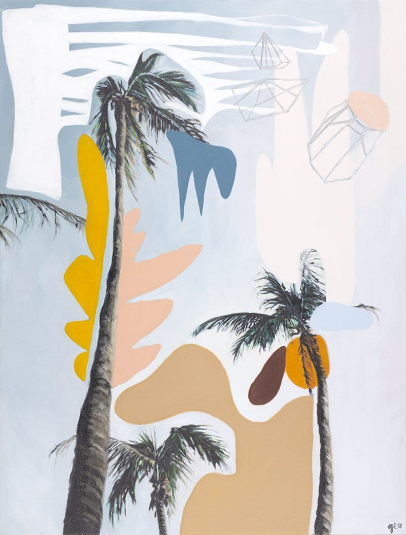 Jewel Sky Palms - Limited Edition Print by Georgie Wilson | Shop Prints | Greenhouse Interiors