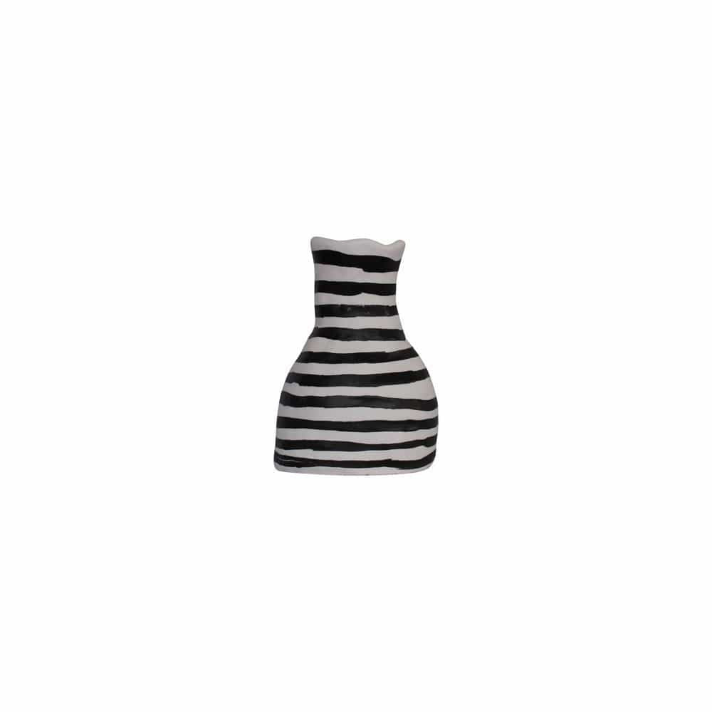 Alchemy Stripey Vase by Kaz Ceramics | Shop Ceramics | Greenhouse Interiors