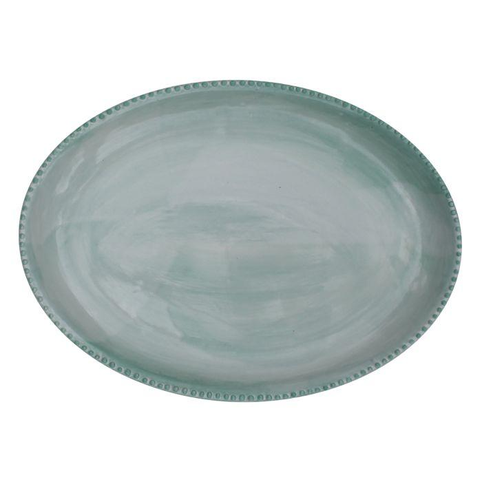 Large Sister Plate - Green by Kaz Ceramics | Shop Ceramics | Greenhouse Interiors