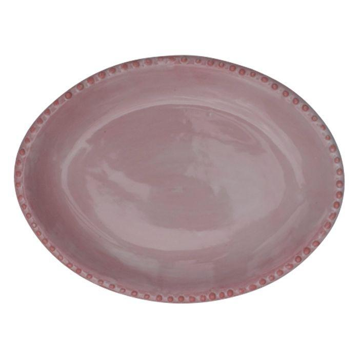 Small Sister Plate - Pink by Kaz Ceramics | Shop Ceramics | Greenhouse Interiors