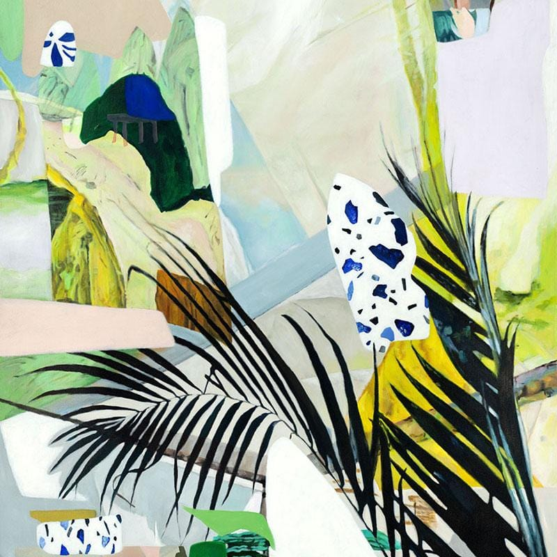 Light Between Leaves - Limited Edition Print-Prints-Georgie Wilson-Greenhouse Interiors