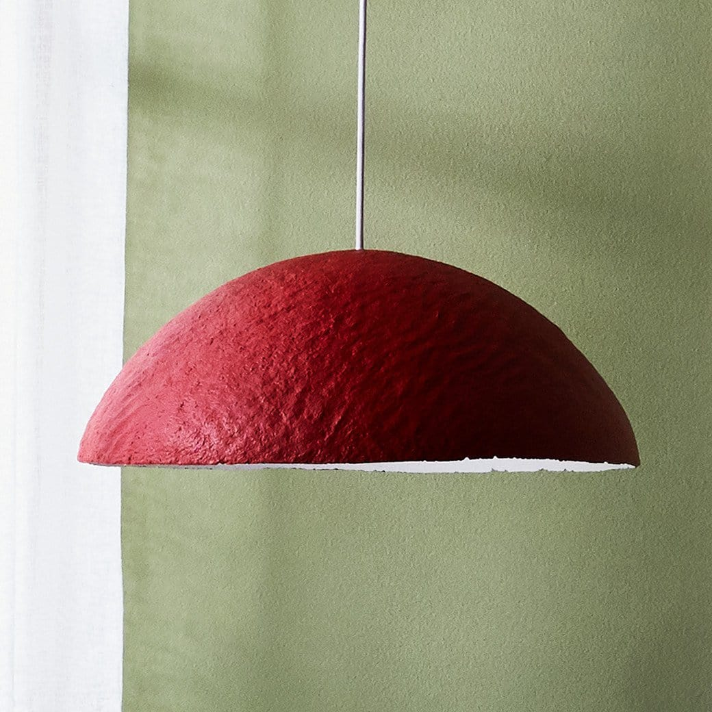 Lunula Pendant - Cherry - Lighting-Lighting-Ode to Elma-Greenhouse Interiors