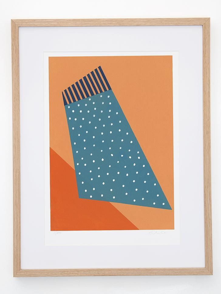 Orange Crush by Formantics | Shop Prints | Greenhouse Interiors