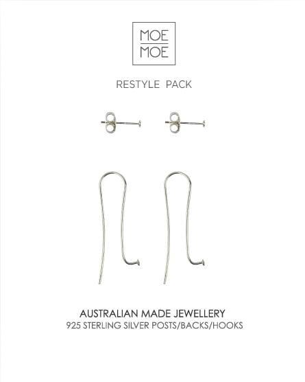 Hook and Stud Restyle Pack-Jewellery-Moe Moe Design-Greenhouse Interiors