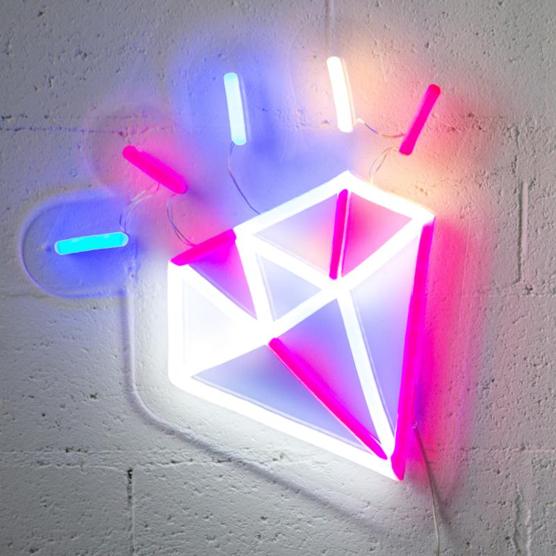 Shine On (You Crazy Diamond) - Neon Lighting by Electric Confetti | Shop Lighting | Greenhouse Interiors