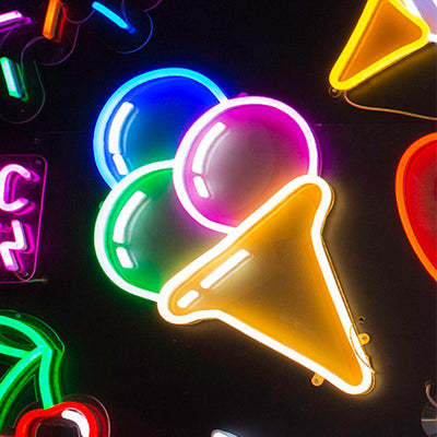 Triple Scoop - Neon Lighting