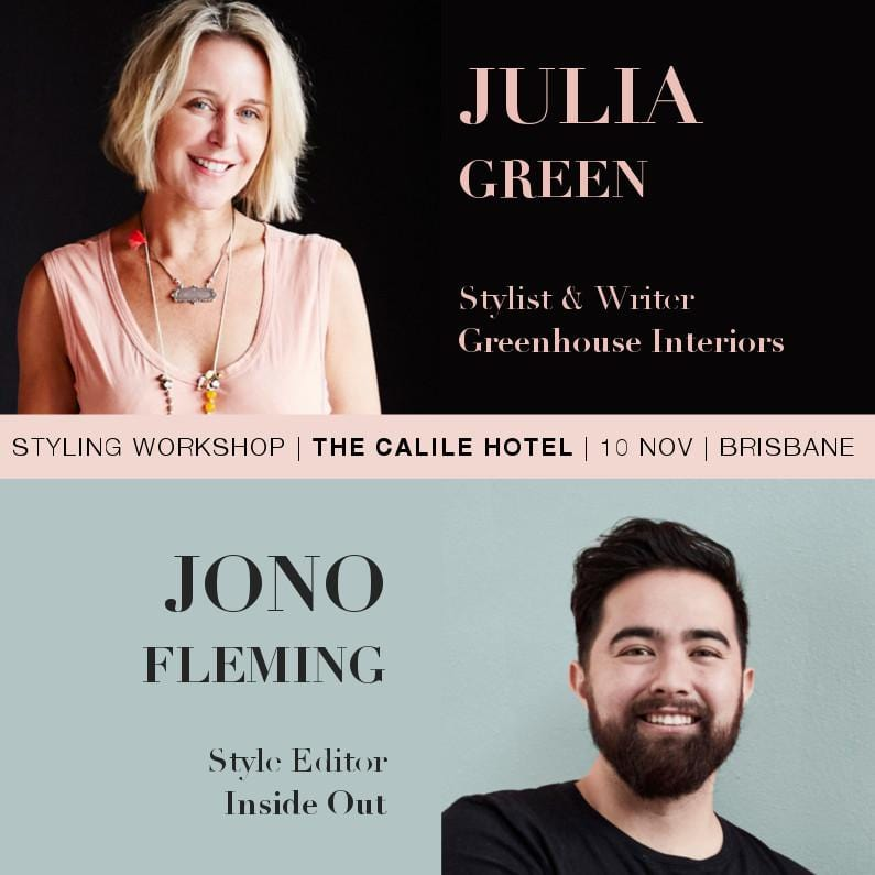 Styling Workshop at The Calile Hotel - Brisbane