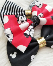 Set of Three Bows // Fab 5 Red