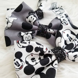 Set of Three Bows // Mickey 90th