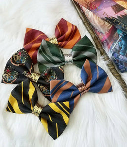 House Tie Bow // Hogwarts House Pride Collection