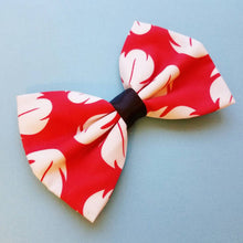 "Lilo ""Lilo and Stitch"" Disney Inspired Glitter Fabric Hair Bow"