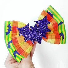 Deluxe Cast Costume Halloween Party Disney Inspired Glitter Fabric Bow // BOW ONLY